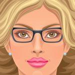 Schminken Brillenträger